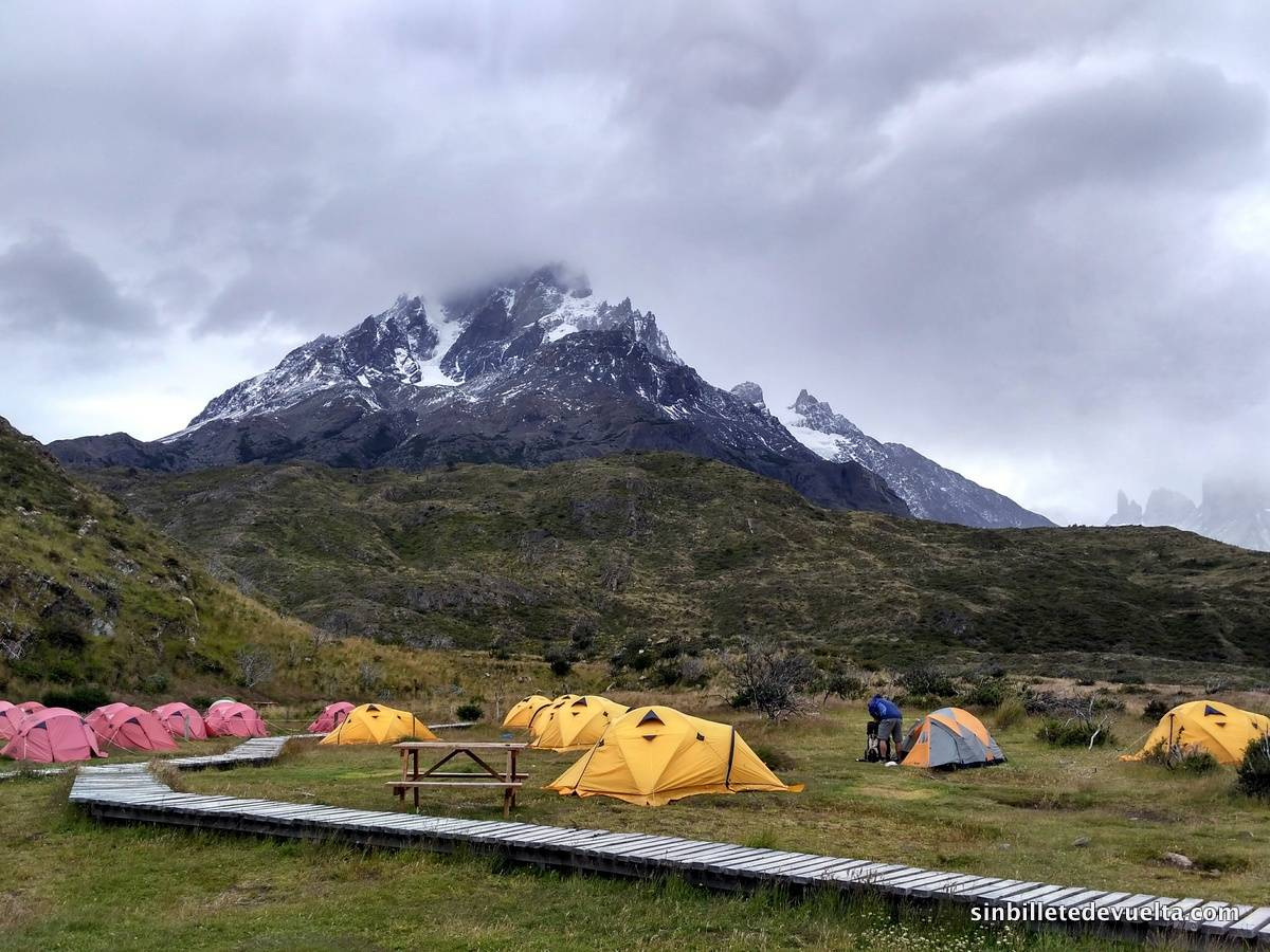 camping paine grande